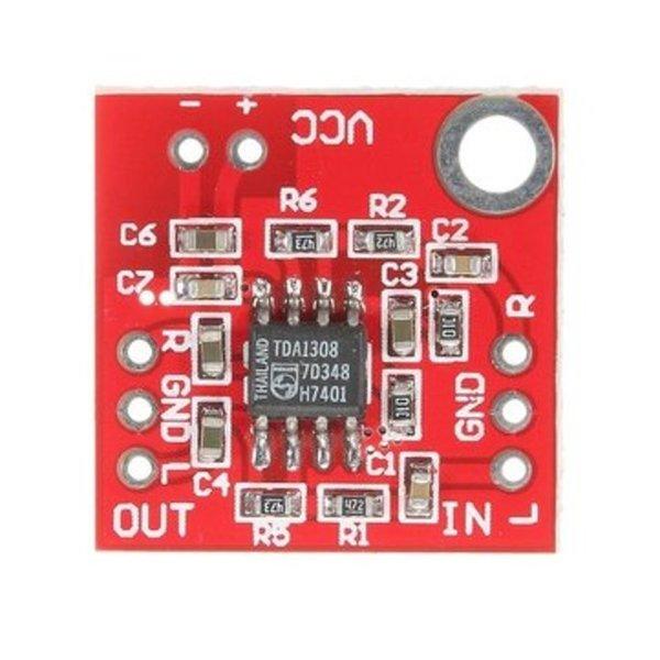 Batvision : dans la peau d'une chauve-souris-Connecter l'ampli et les capteurs de distance à l'Arduino