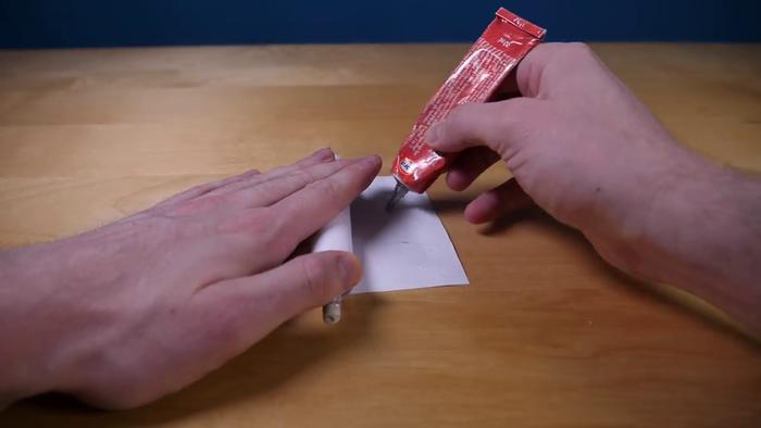 Canon en papier-Rouler le papier