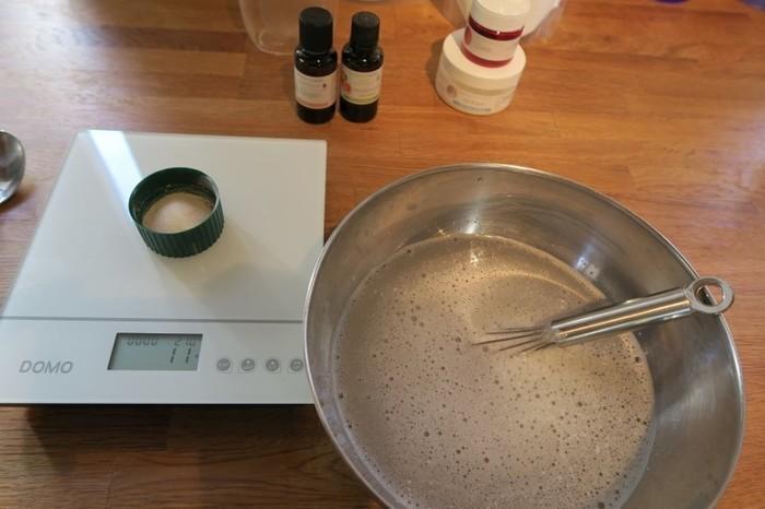 Liquide vaisselle maison-Recette