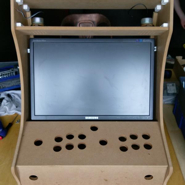 Construire son Bartop Arcade de A à Z-ETAPE 2 : ASSEMBLAGE DU KIT BOIS