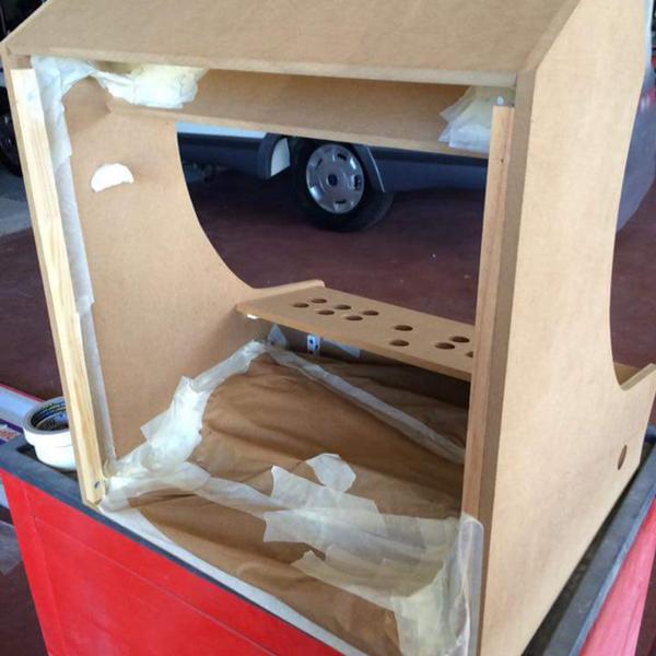 Construire son Bartop Arcade de A à Z-ETAPE 3 : DESIGN ET PEINTURE