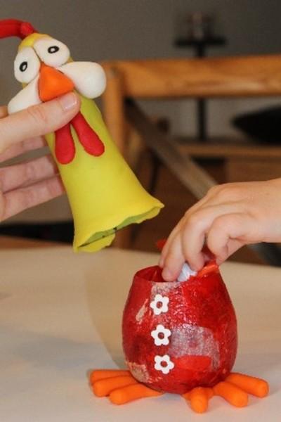 Bonbonnière de Pâques-Le secret pour la fin...