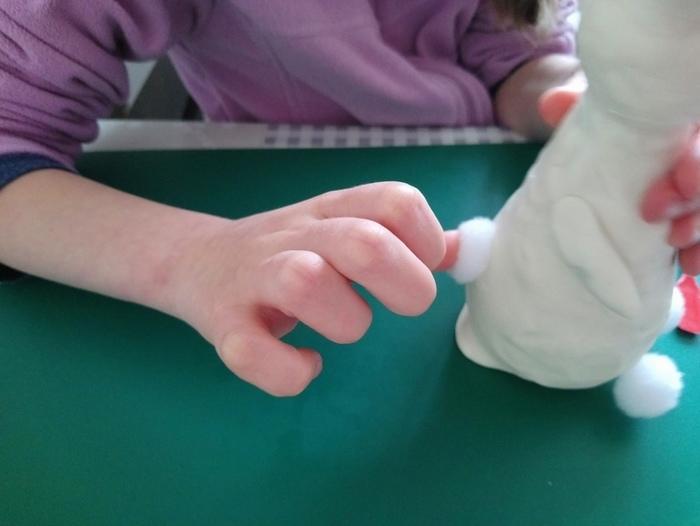 La fabrique des œufs de Pâques-Le lapin