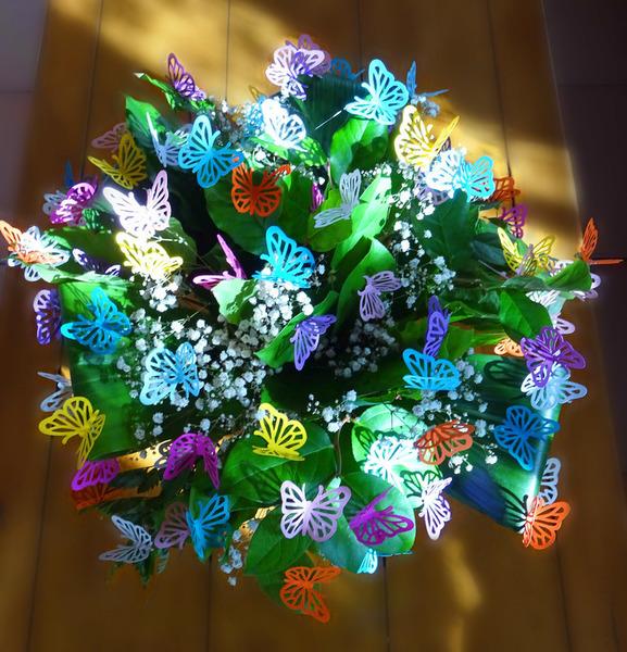 Bouquet printanier-Collage