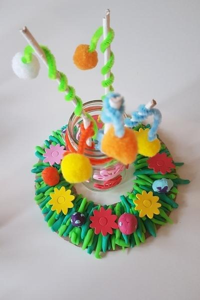 Le jardin de Pâques-Et voilà un jardin de Pâques !
