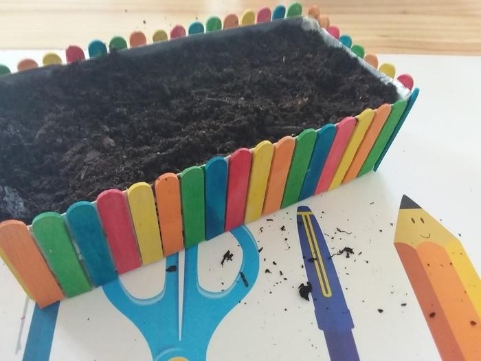 Mini Jardin -Création du potager - Le semis