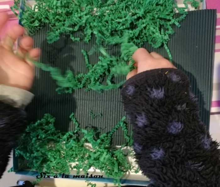 Petits jardins de Pâques-Etape 1 : Préparation du jardin