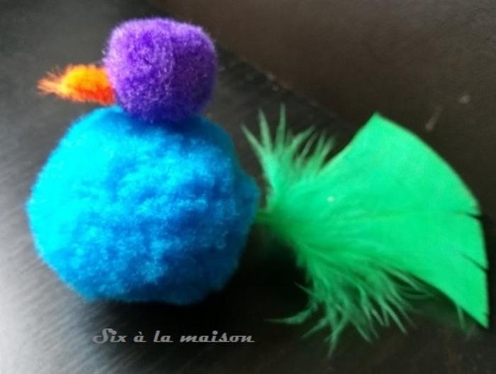 Petits jardins de Pâques-Etape 5 : La poule