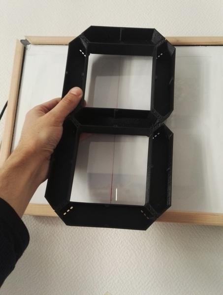 Grande horloge numérique V2-Impression 3D