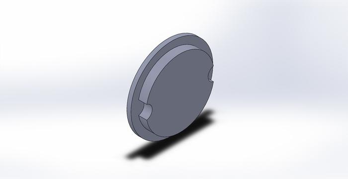 Grande horloge numérique V2-Modélisation 3D