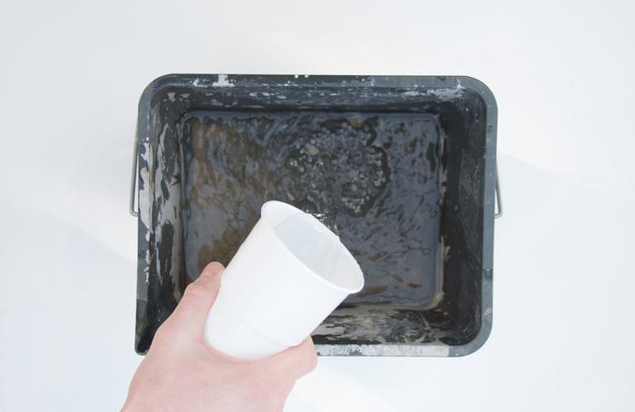 Des soliflores verre et béton-PRÉPARER LE BÉTON