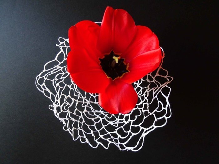 Corbeille en stylo 3D-Bougeoir, vase, ou écrin à  bijoux