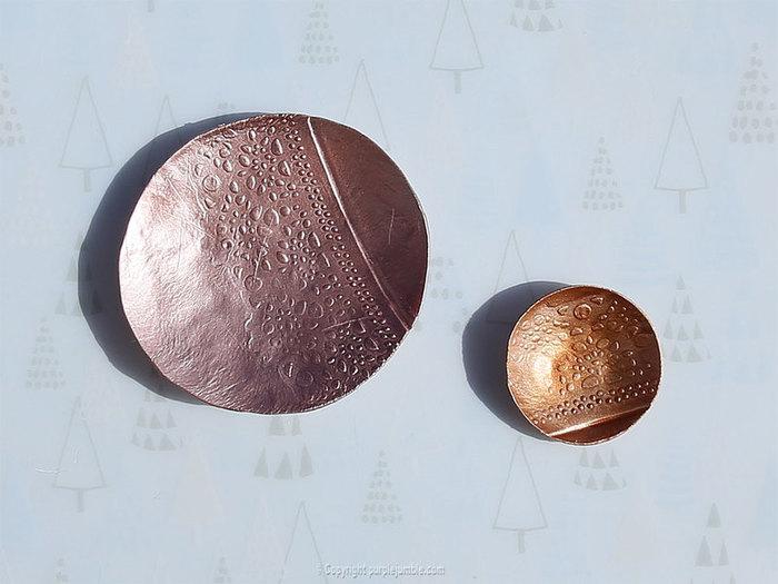 Des rangements à bijoux metalliques-Les peindre