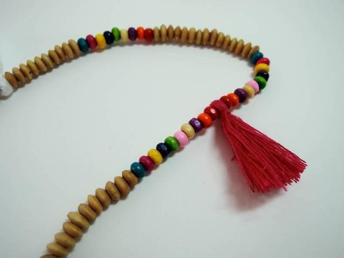Un collier à pampilles-Deuxième pampille
