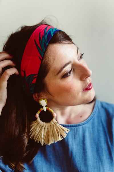 Boucles d'oreilles Frida Khalo-Etape 4 : Portez vos joles boucles