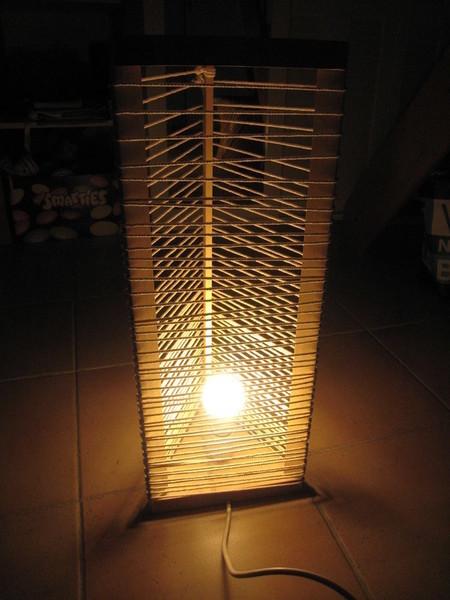 Jeux de corde et lumière-Essais de fils