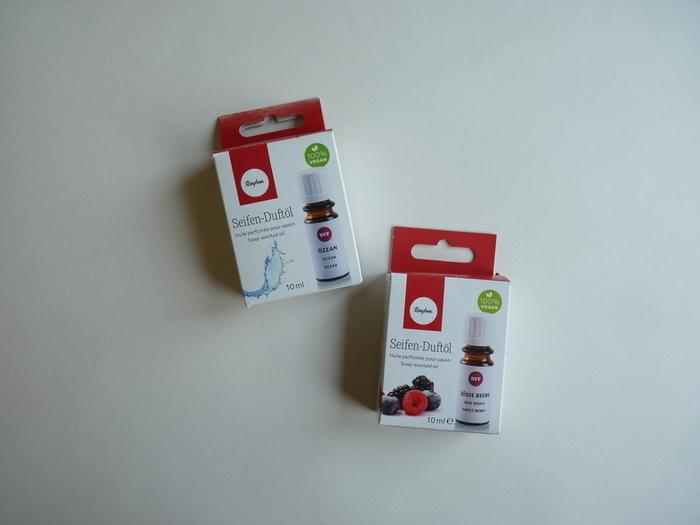 Savons surprises-Matériel utilisé optionnel : pour les boites, les paillettes ou Ariel en plastique dingue (+ liens)