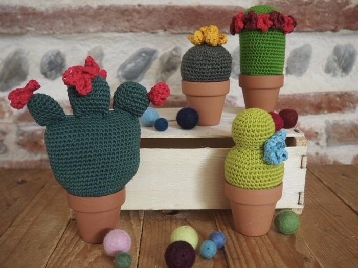 Doux Cactus-Vous avez terminé vos cactus doux!