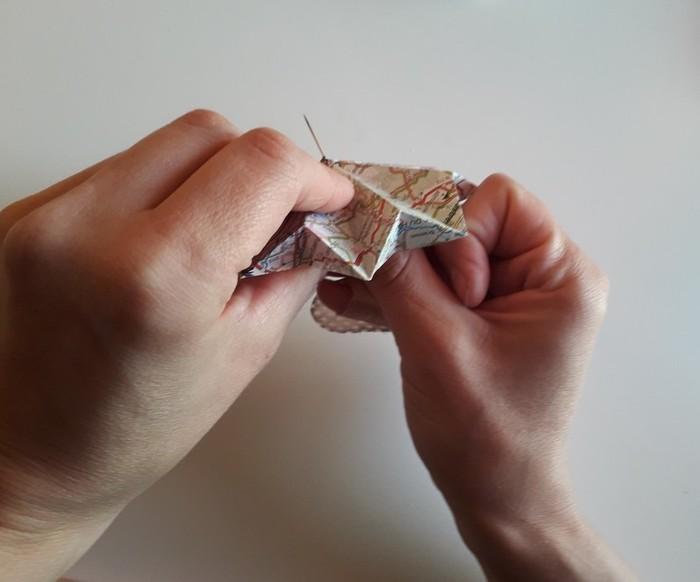 Diamant Origami-Assemblage du diamant