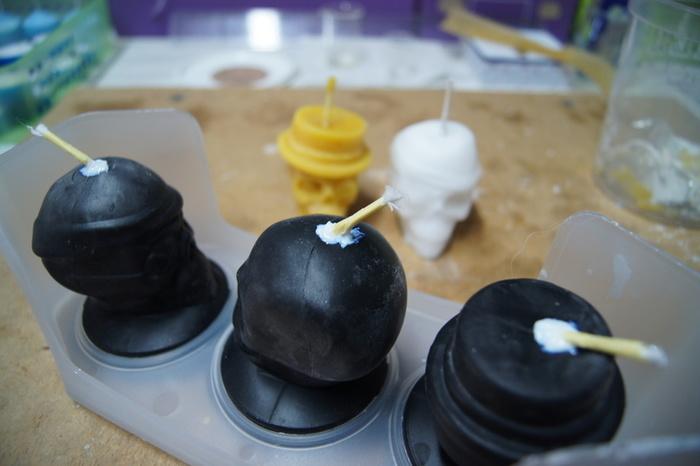 Bougies originales en cire d'abeilles-Assurer l'étanchéité de vos moules