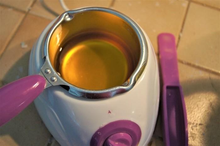 Bougies originales en cire d'abeilles-Coloration de la cire d'abeilles blanche/jaune