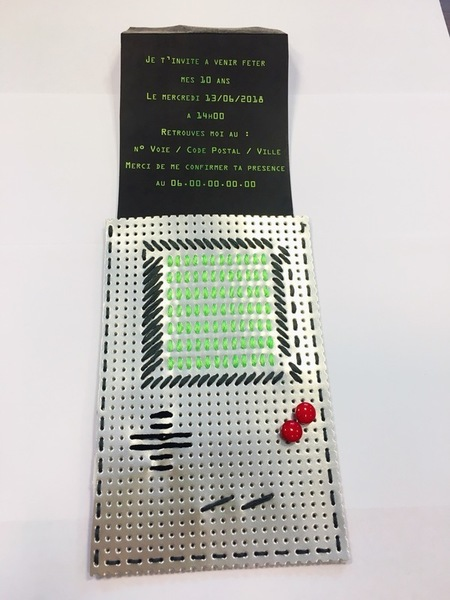 L'invitation GameBoy Party-