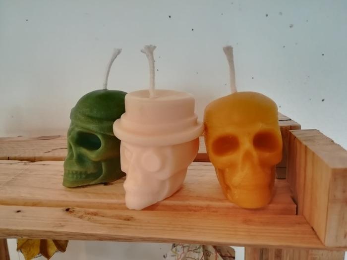 Bougies originales en cire d'abeilles-Ce tutoriel fait partie du projet d'un cabinet de rasage