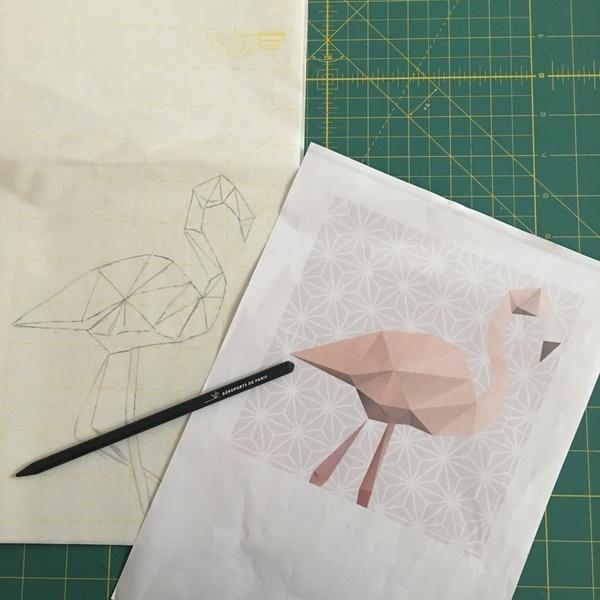 Le Flamant Rose du Tote Bag-choisir son oiseau et utiliser le Steam A steam 2