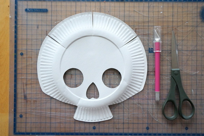 Masques Calavera & Luchador-La tête de mort