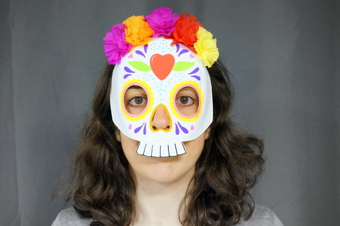 Masques Calavera & Luchador-Bon déguisement!