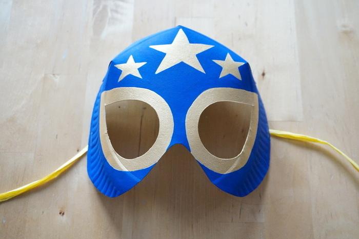Masques Calavera & Luchador-Le catcheur mexicain