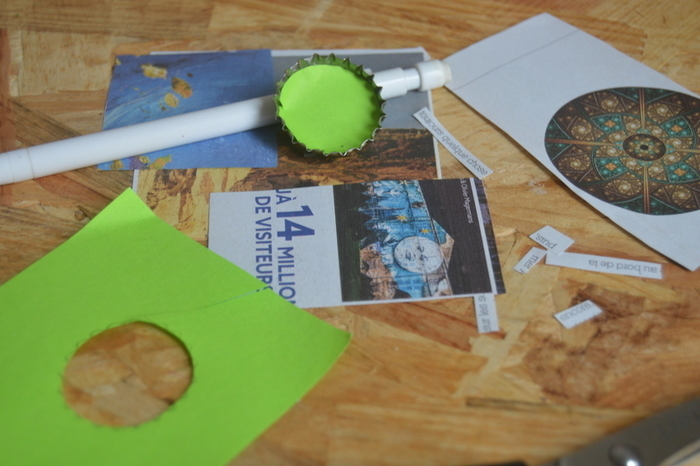 Aimants personnalisés DIY-Dessiner le contour des aimants