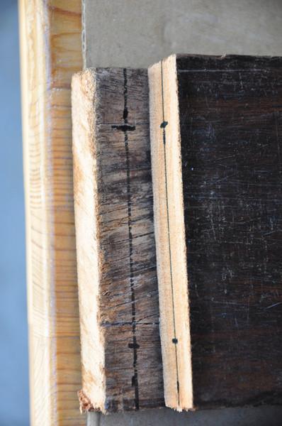 Un terrarium de laboratoire-La structure en bois