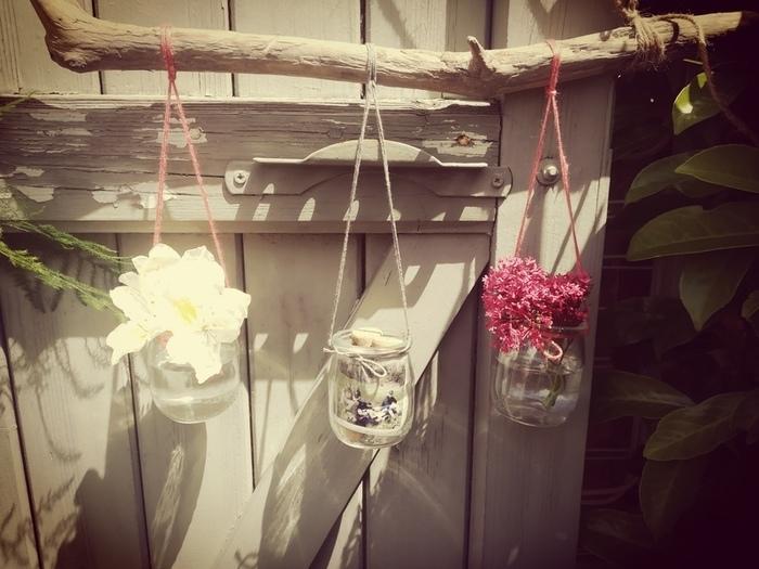 """Tutoriel DIY """"Le bois fleuri""""-Suspendre les créations"""