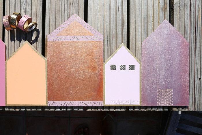 Un porte manteau original bois et métal-Peindre et décorer les maisons