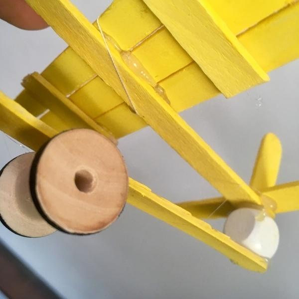 Envolée d'aéroplanes -Mise en place