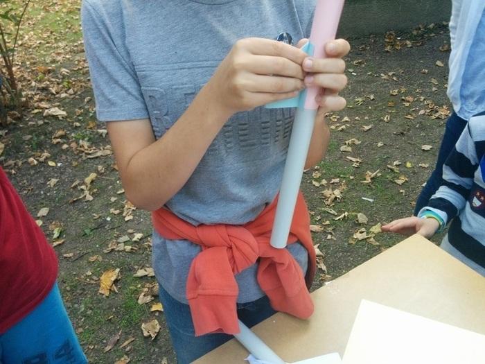 La fusée bondissante de Lille Makers-Faire des fusées
