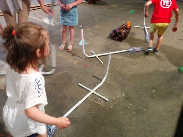 La fusée bondissante de Lille Makers-1, 2, 3, Sautez !