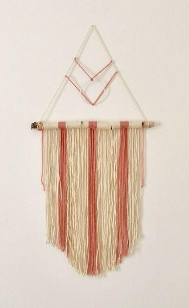 Tissage rêveur -Faire un noeud pour attacher un cercle nu