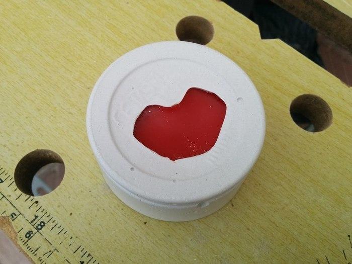 Mouler du verre au micro-onde-Faire du plâtre réfractaire