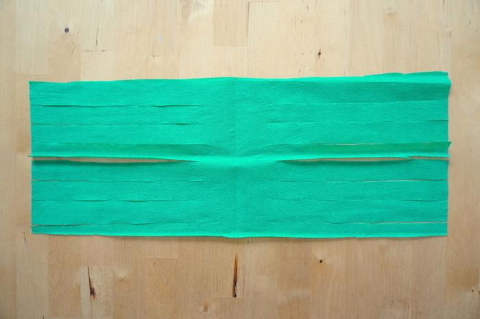Guirlande de tassels en papier-Les pompons