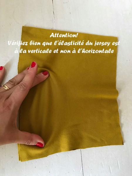 Echarpe de portage facile-Coupez vos tissus