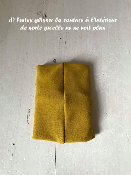 Echarpe de portage facile-Coudre le lien/tube du milieu