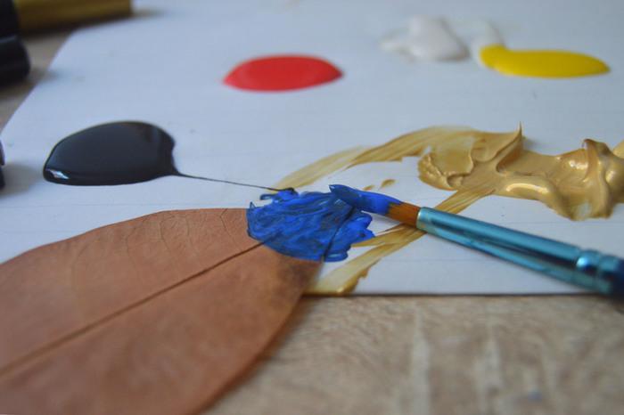 Feuilles colorées DIY - en 30 minutes !-Décorer