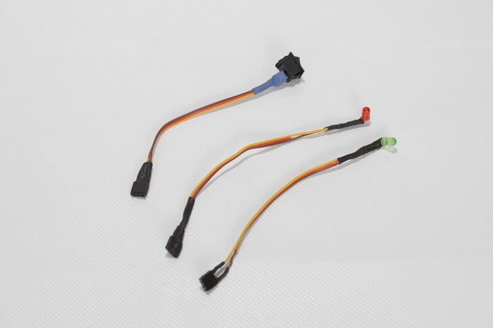 Câbler des composants d'une fleur animée-Câbler les leds et l'interrupteur