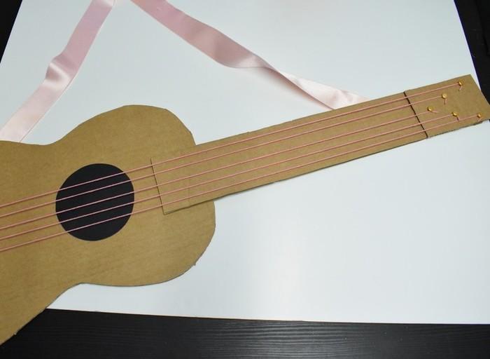Une guitare qui cartonne-Détail