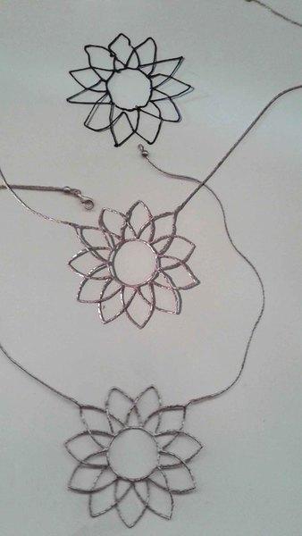 """Mon collier """"Renaissance""""-Le tracé"""
