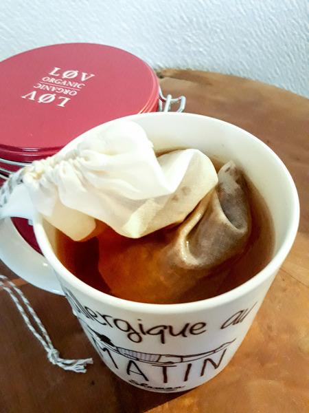 Filtre à café/thé réutilisable -Retourner ton filtre