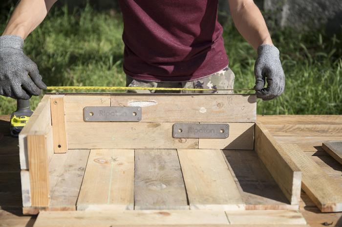 Créez une jardinière en palette !-