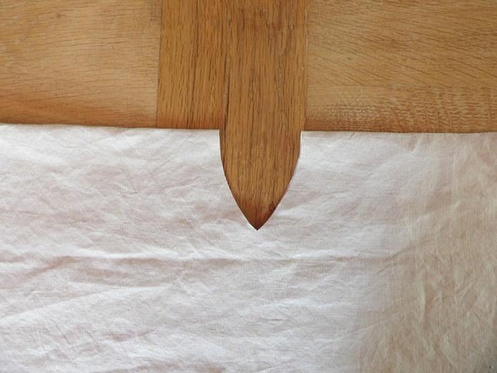 La robe du Sud... tutoriel pour créer un mini kaftan-etape 1: création de l'encolure
